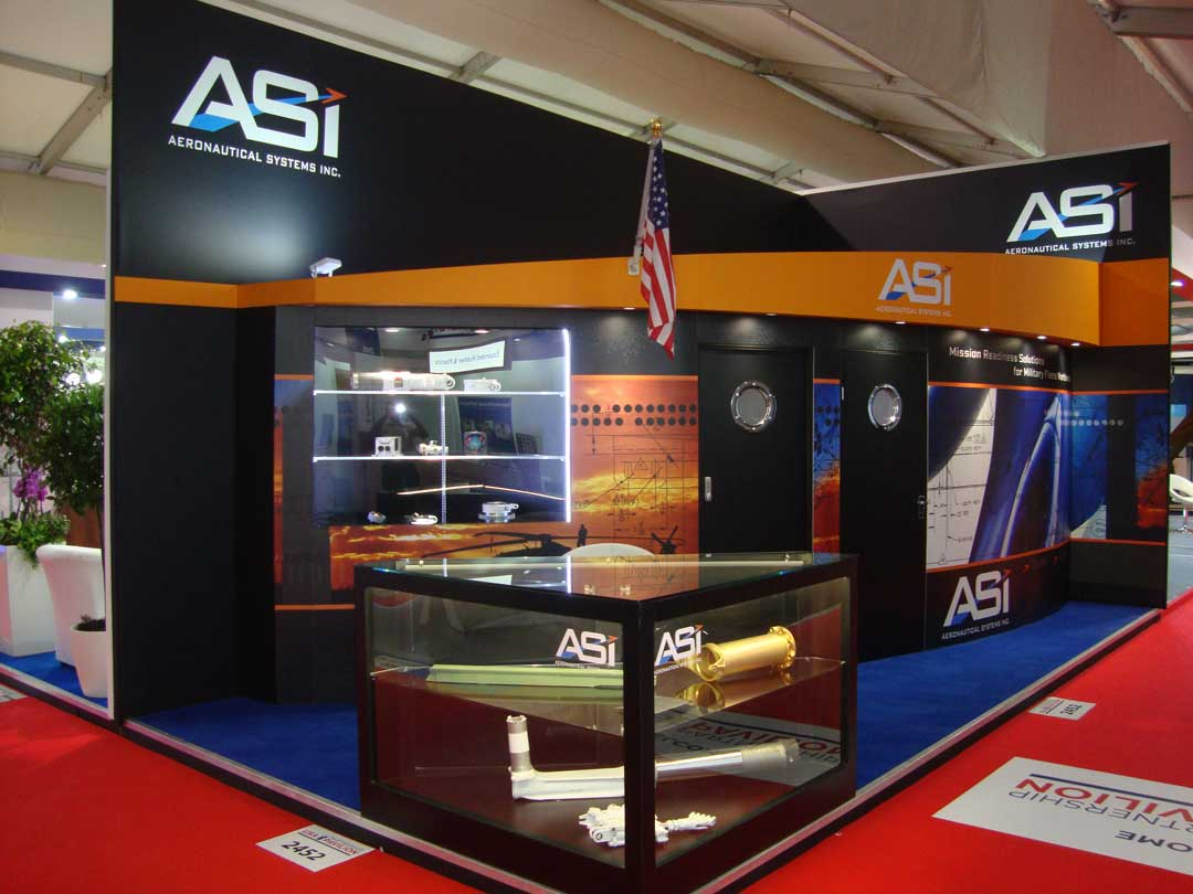 ASI exhibition stand