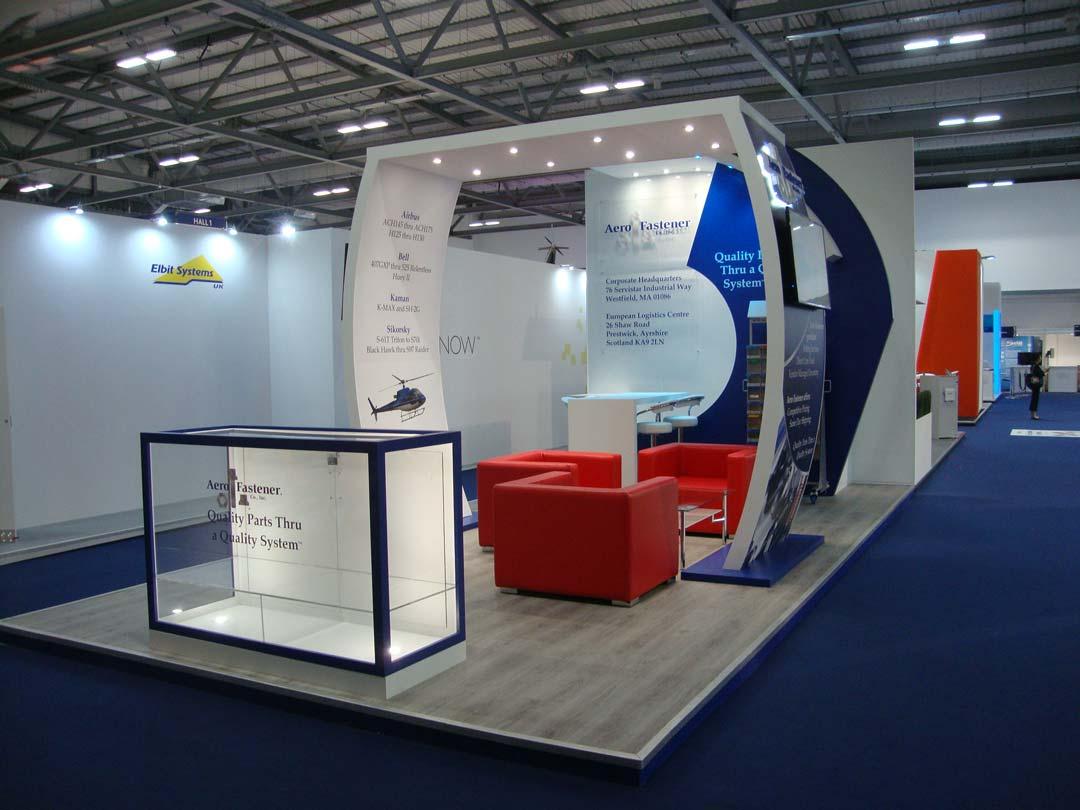 Aero Fastener exhibition stand