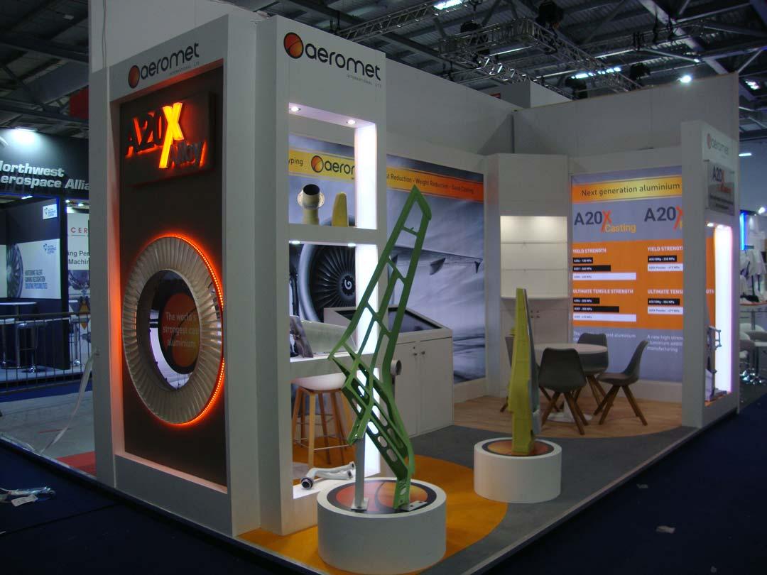 Aeromet exhibition stand