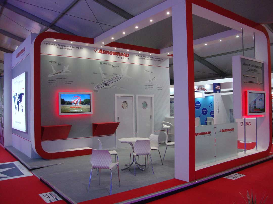 Arrowhead products exhibition stand