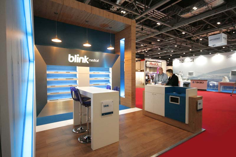 Blink medical exhibition stand
