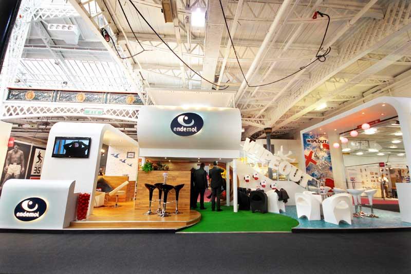 Endemol exhibition stand