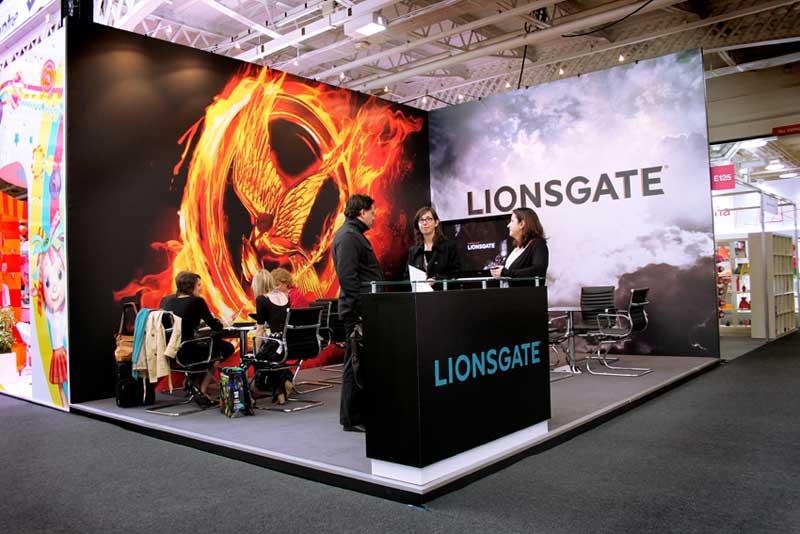 Lionsgate exhibition stand