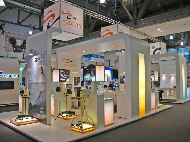 Spectrum exhibition stand