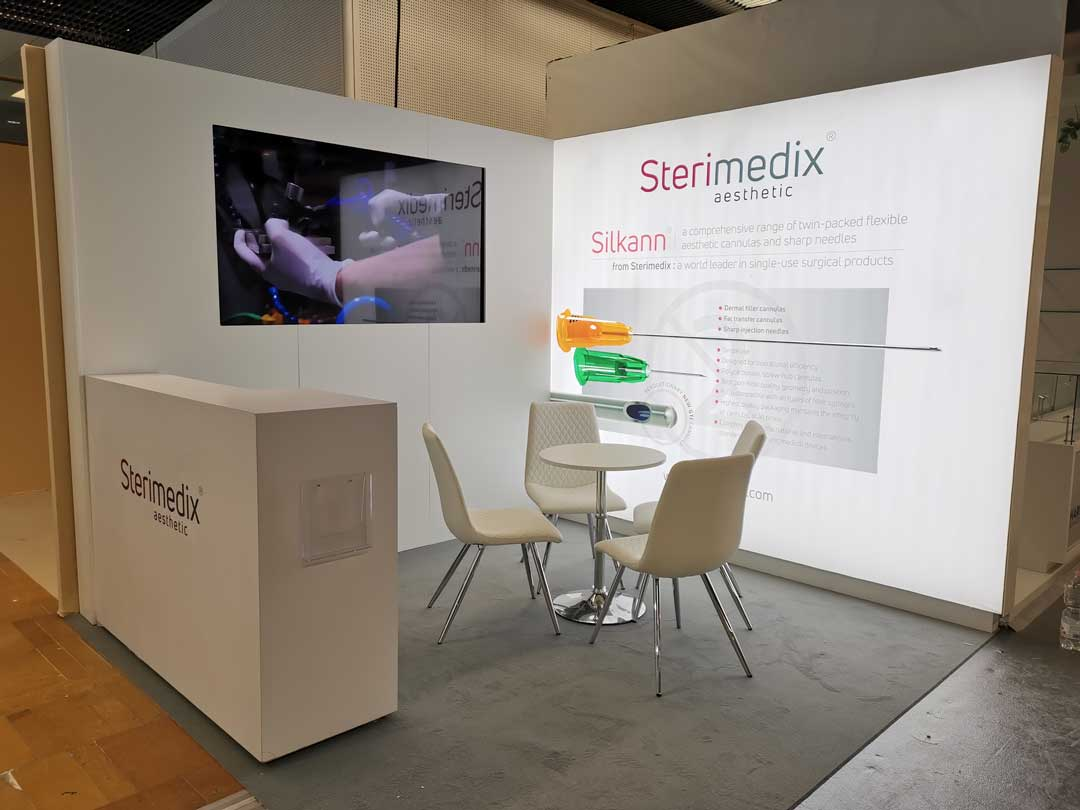 Sterimedix aesthetic exhibition stand
