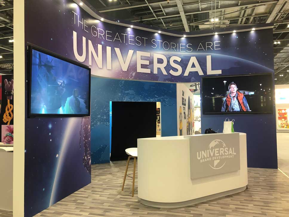Universal exhibition stand